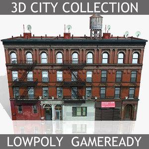 3d new york brick house