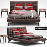 roche bobois bed 3d max
