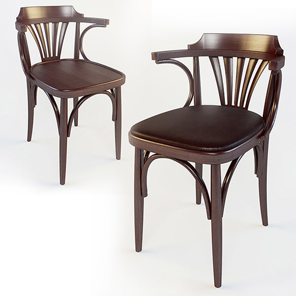 viennese chair 3d max