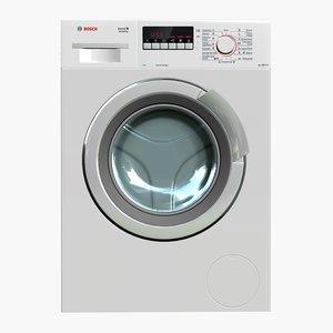 washingmachine bosch wlk2424zoe 3d obj