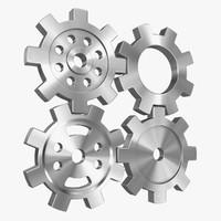 3d gear subdivision