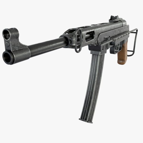 3d k-50m submachine gun