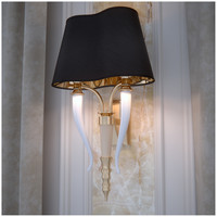 3d black wall lamp esmeralda