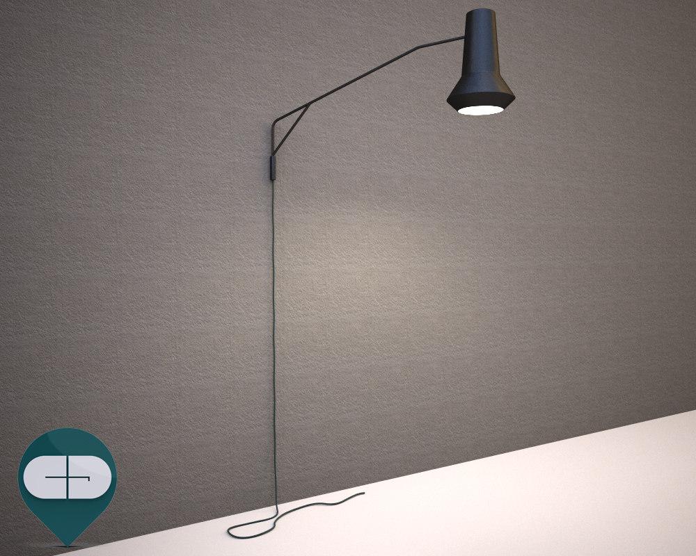 lamp scandinavian 3d 3ds