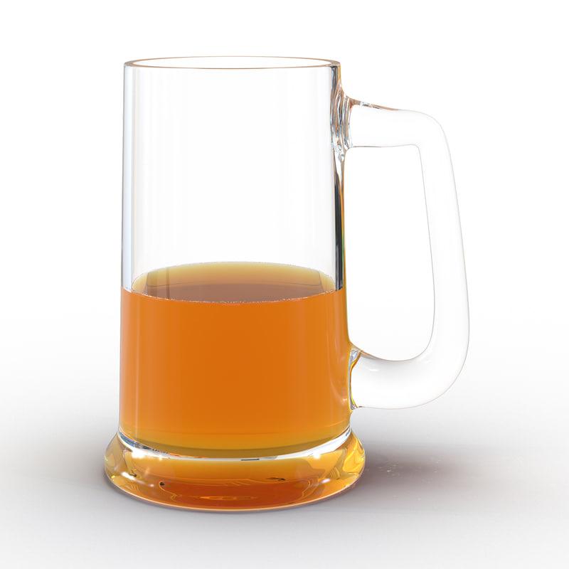 3ds half beer mug