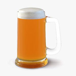 3d beer mug model