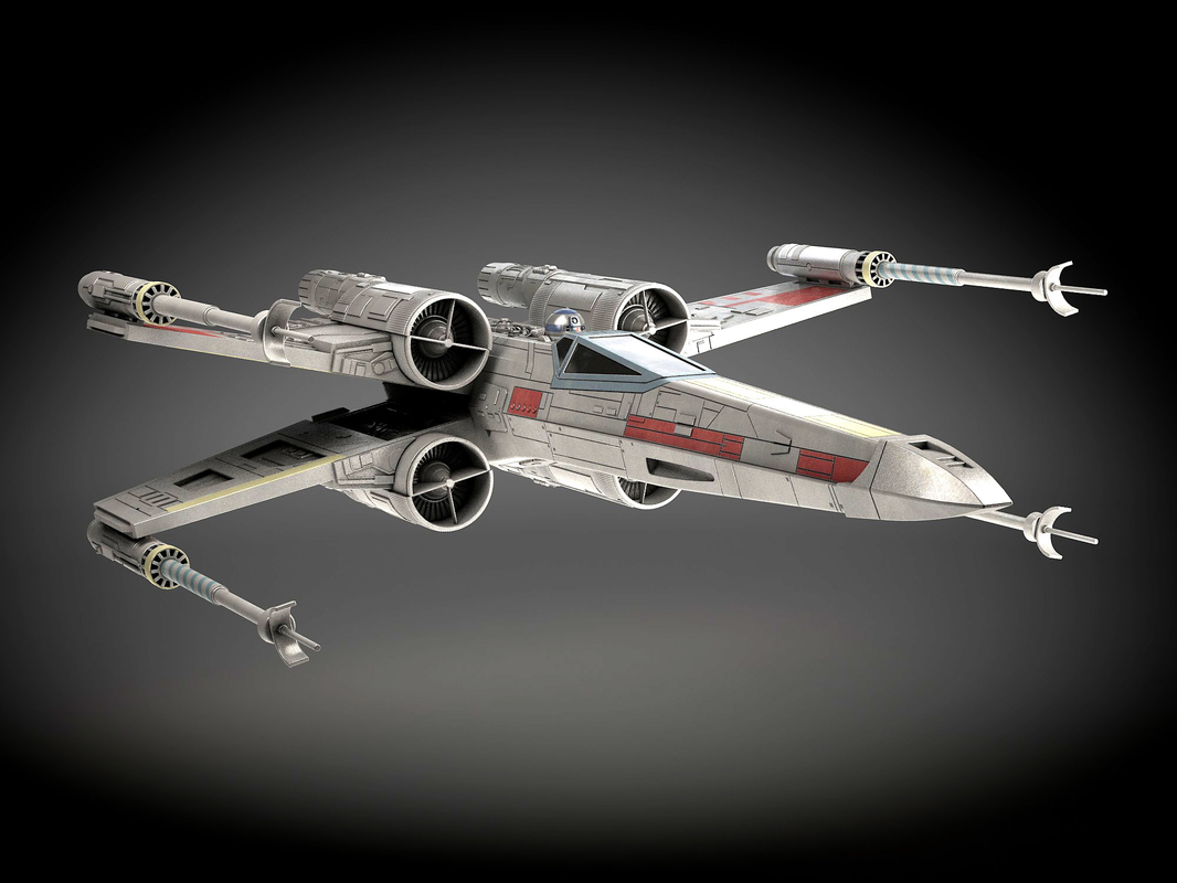x-wing 3ds