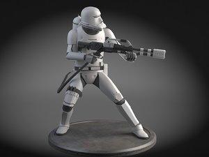 flametrooper 3d max