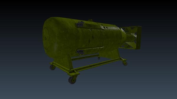little boy atomic bomb 3d 3ds