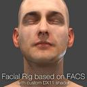 3d model of rig based facs