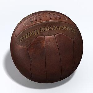 soccer ball 3d fbx