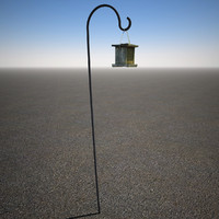 3d max realistic bird feeder