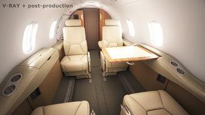 - cabin learjet 31 max