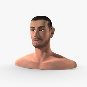 dxf head human man