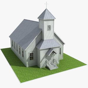catholic church 3d max