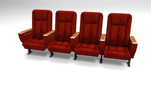 theater ready seat dxf
