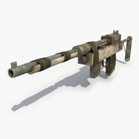 Post Apocalyptic Rifle