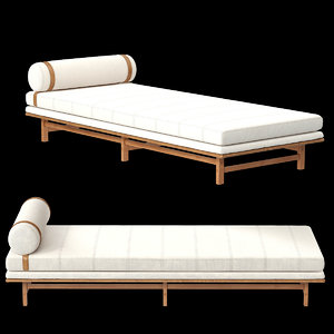 sw daybed 3d obj