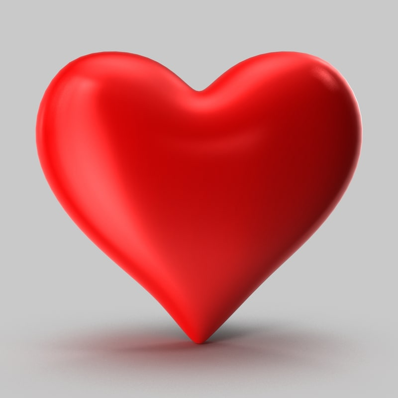 3d heart shape model