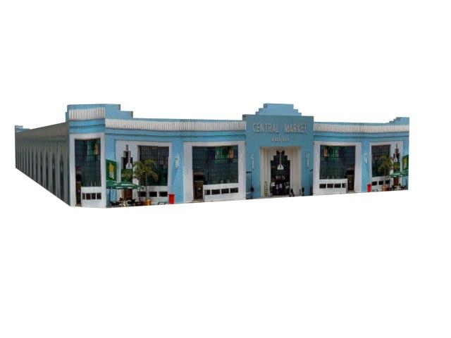 central market 3d model