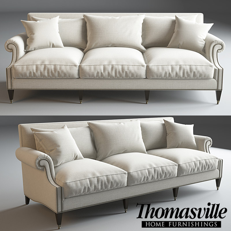 3d model thomasville alnwyck sofa