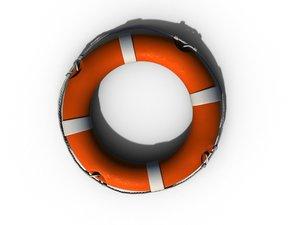 3d life buoy