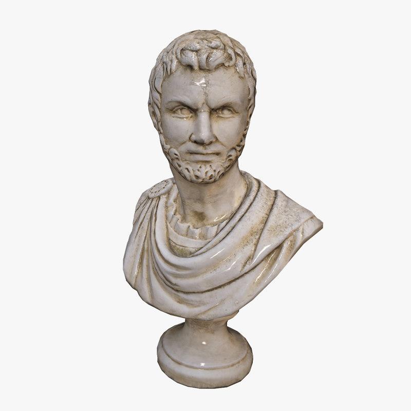 obj ancient bust