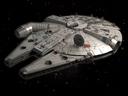 Star Wars Millennium Falcon Space Ship