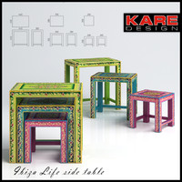 stools coffee tables kare 3d max