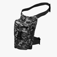 hip bag 3d model