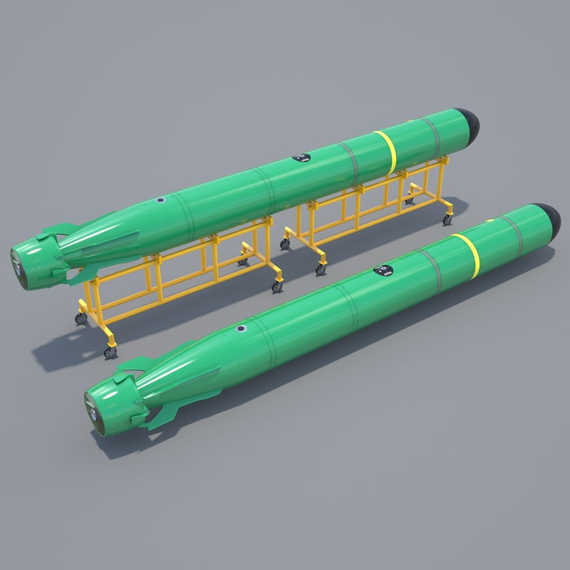 3d model mark-48 adcap heavy weight