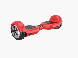 3d model hoverboard hover board