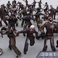 3DRT - Real Zombies