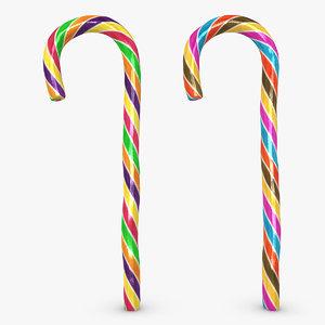 3d candy cane 05 2