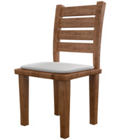 wood chair 3ds