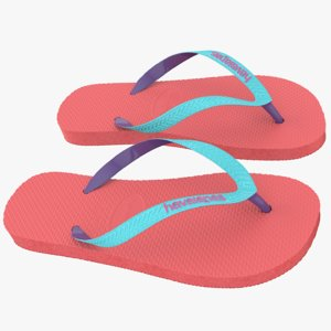 havaianas sandals 2 3d model