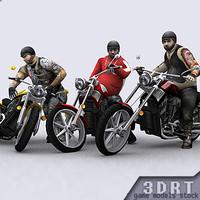 bikes - 3d 3ds