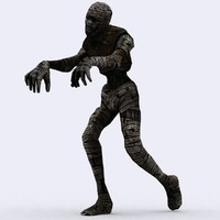 3d 3ds mummies -