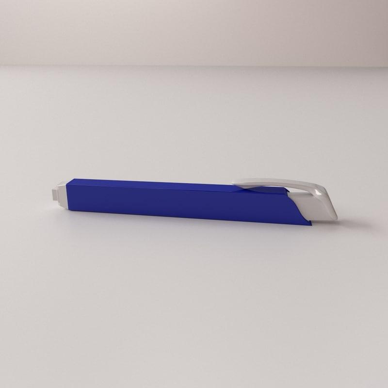 3d model mechanical eraser