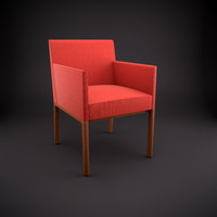 3d nessel armchair model