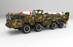 3d model missile ready games