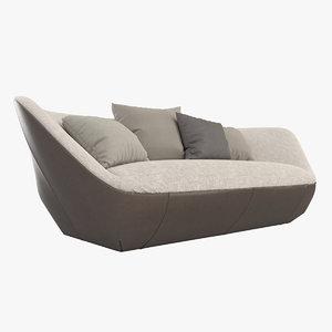 3d model walter knoll isanka sofa