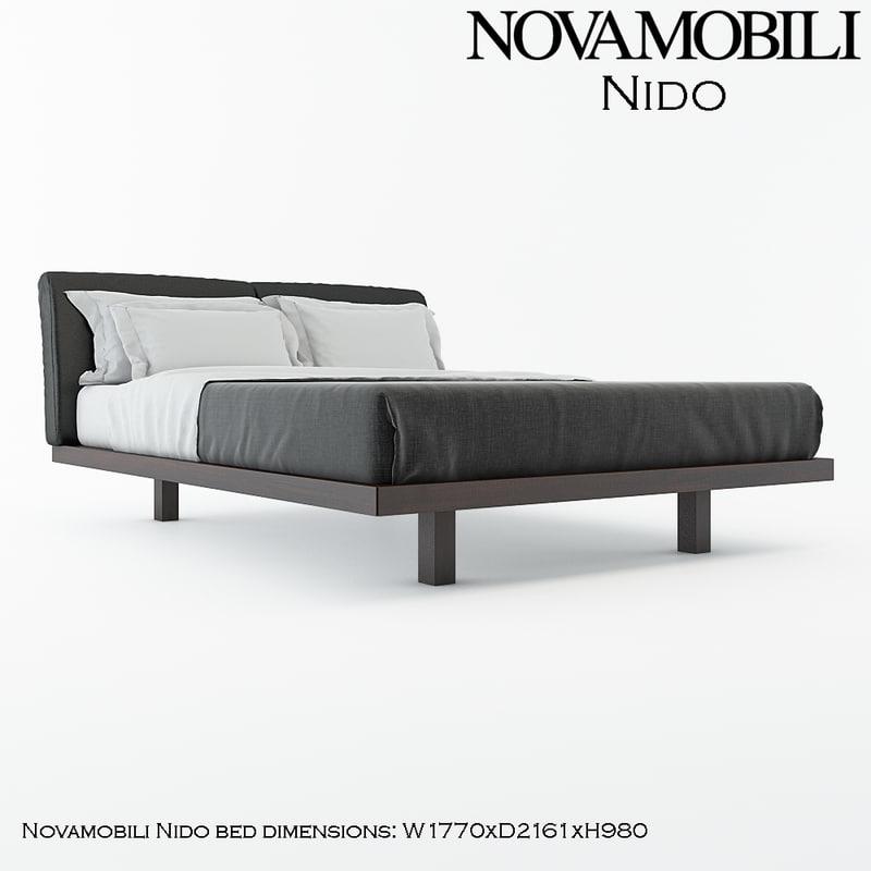 nido novamobili 3d max