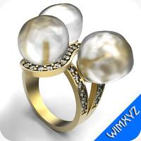 3dm ring jewelry gem