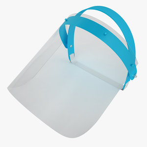3ds dental face shield