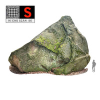 3d model giant rock pyramid 8k