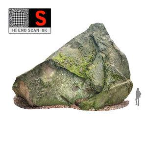 3d model giant rock pyramid 8k