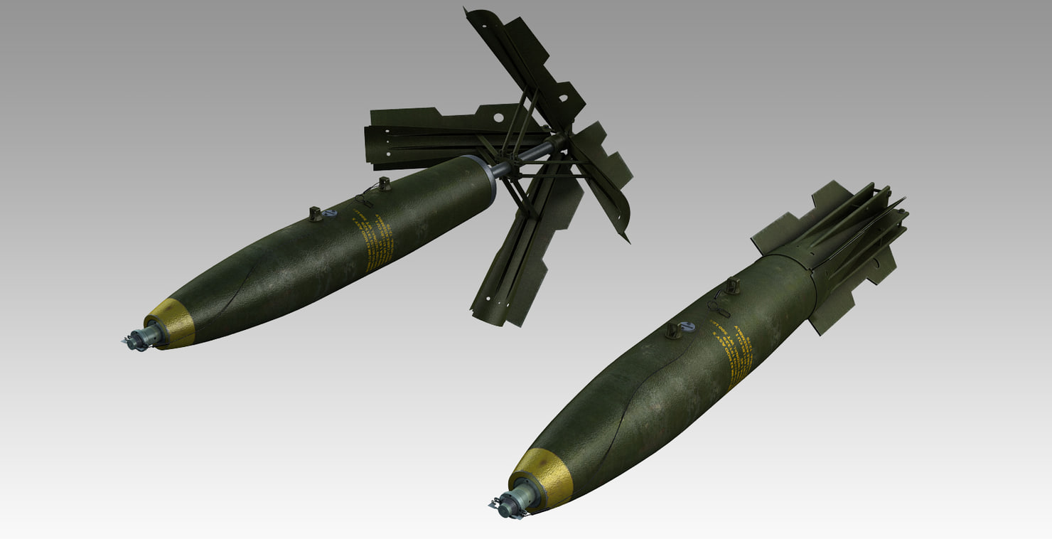3d model bomb