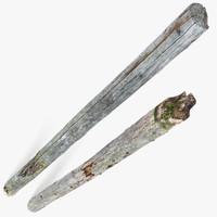 Rotten Pine Logs