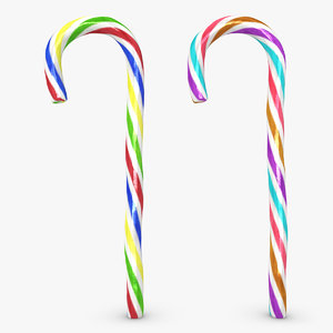 3d max realistic candy cane 06